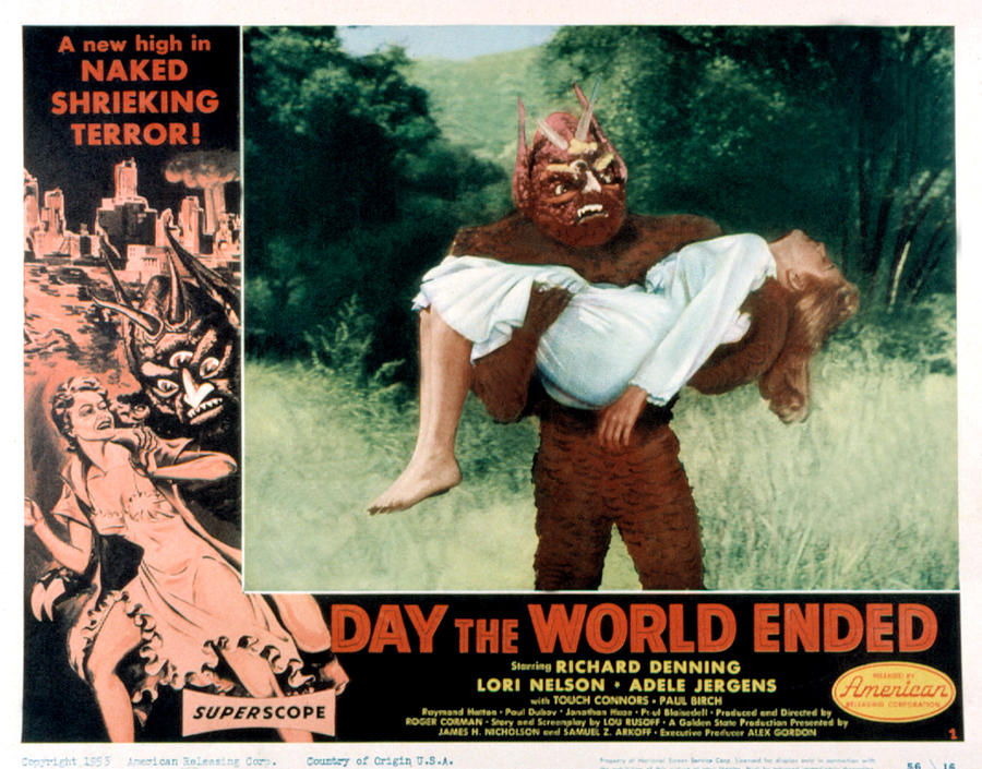 1956 Movies Photograph - Day The World Ended, The, Lori Nelson by Everett