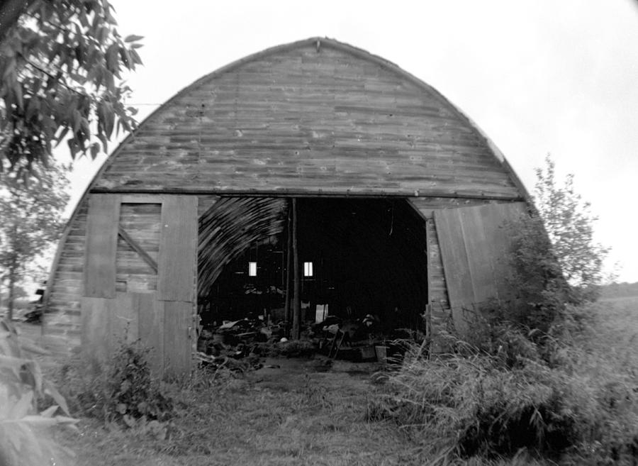 Barn Photograph - Days Gone By by Artist Orange