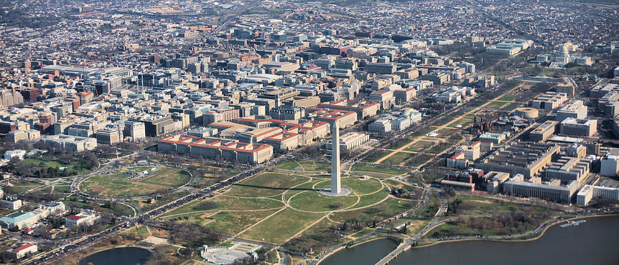 Washington Dc Photograph - Dc From Above by JC Findley
