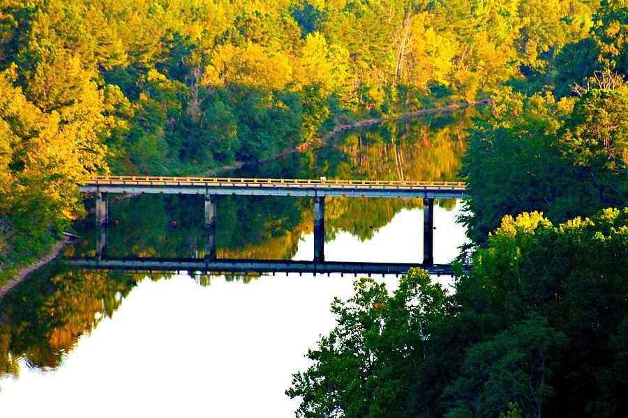 Landscape Photograph - De Gray Bridge by Jan Canavan