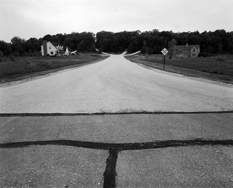 Wisconsin Photograph - Dead End On Highway C by Jan W Faul