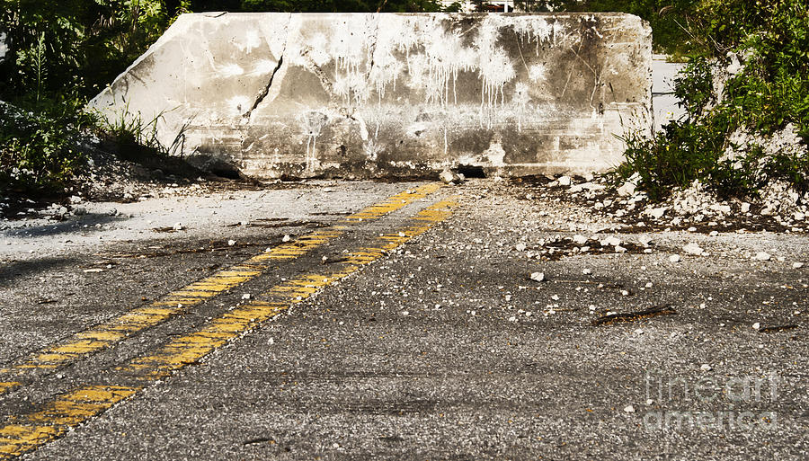 Road Photograph - Dead End Street by Blink Images