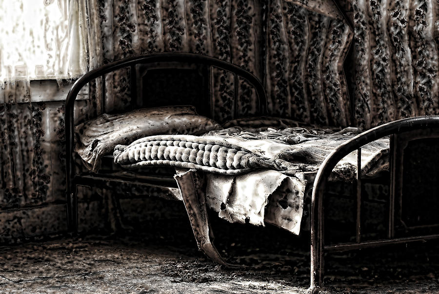 Room Photograph - Dead Sleep by Empty Wall