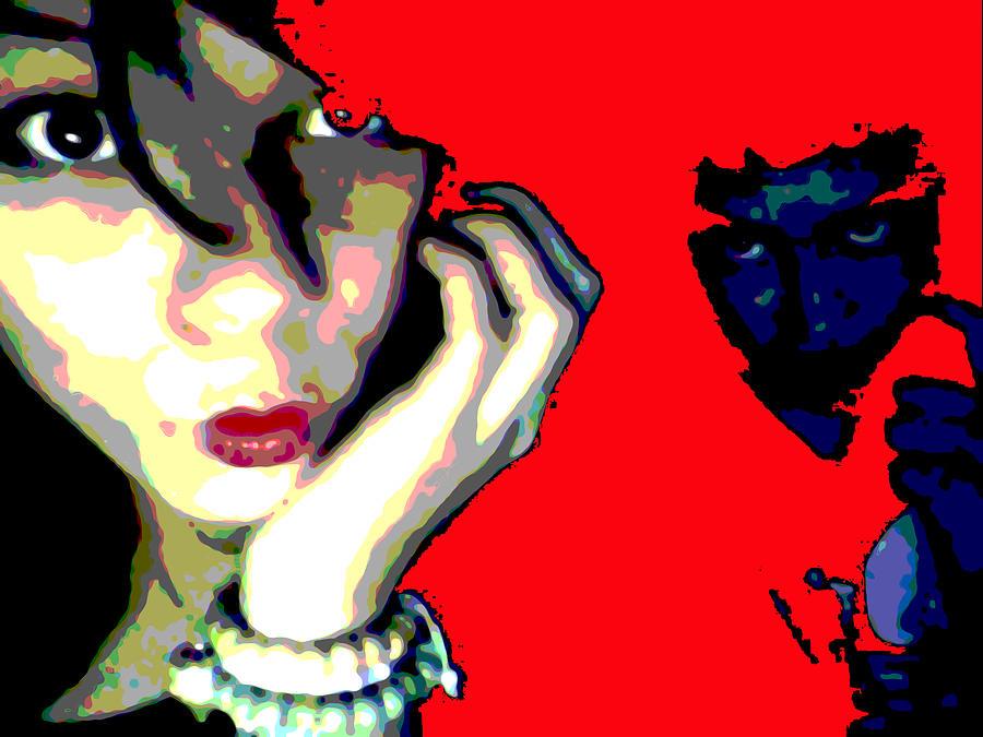 Deadly Kisses Digital Art - Deadly Kisses by Jimi Bush