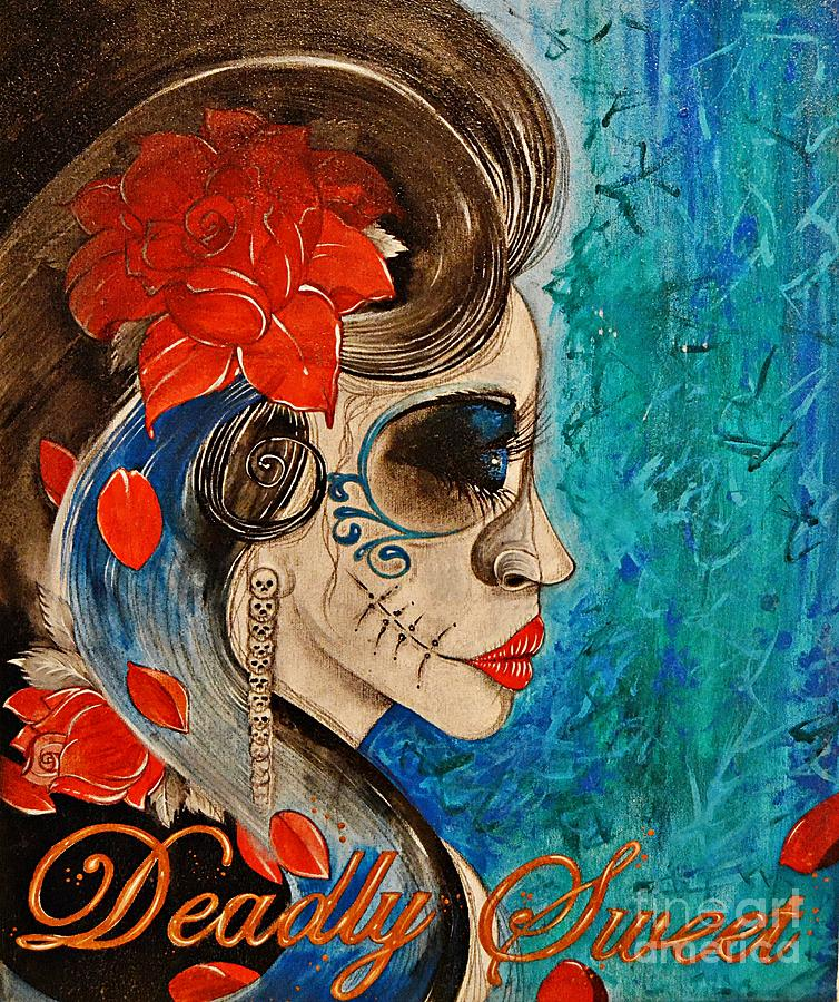 Dead Painting - Deadly Sweet by Sandro Ramani