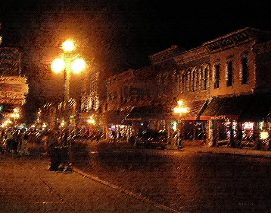 Deadwood Photograph - Deadwood Night by Liz Evensen