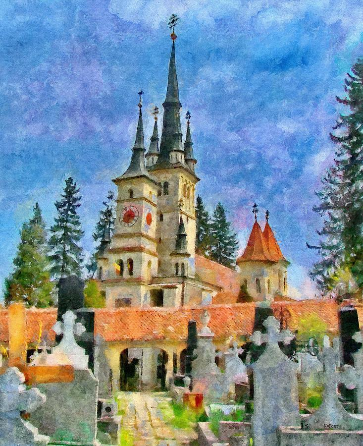 Eastern European Painting - Death And Life by Jeffrey Kolker