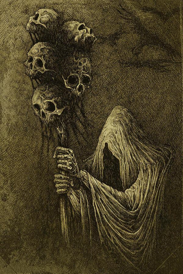Death Photograph - Death by Maciej Kamuda