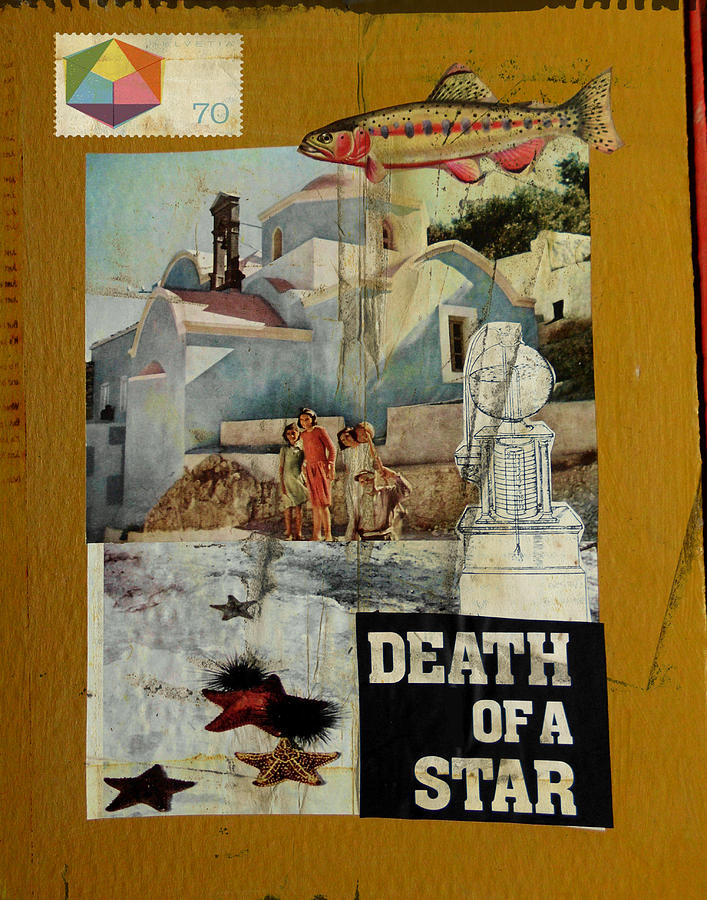 Starfish Mixed Media - Death Of A Star by Adam Kissel
