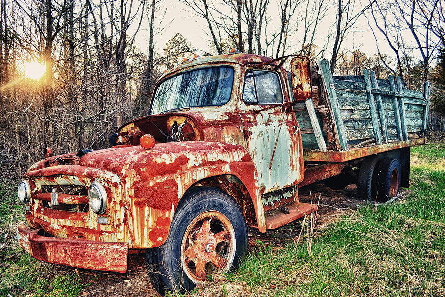 Cars Photograph - Death Of Tow Mater by Kelly Reber