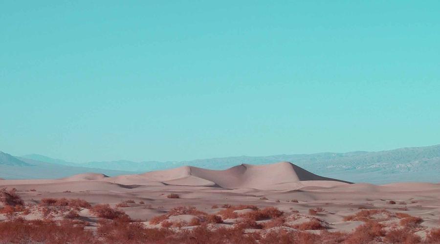 Nature Photograph - Death Valley Dunes 2 by Naxart Studio