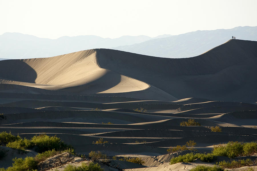 Walkers Photograph - Death Valley Dunes by Wes and Dotty Weber