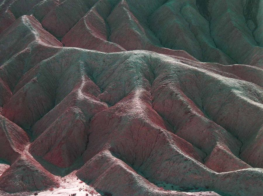 Nature Photograph - Death Valley Mountains 3 by Naxart Studio