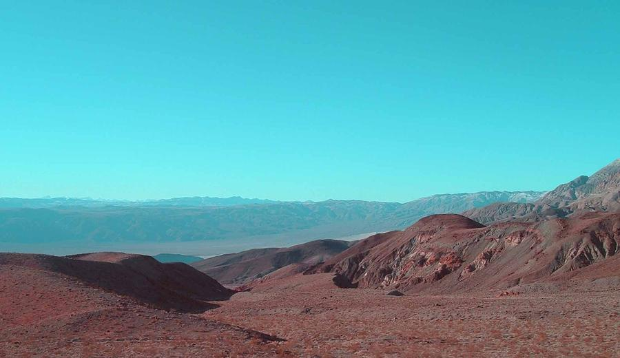 Nature Photograph - Death Valley View by Naxart Studio