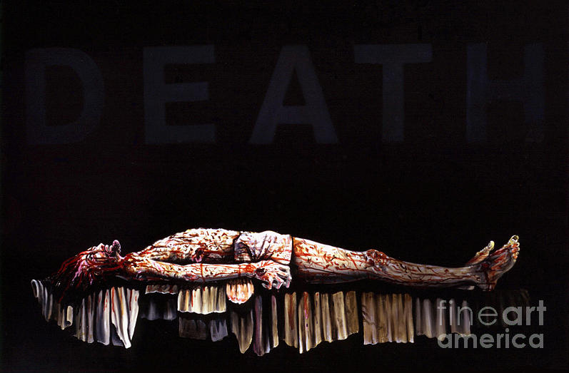 Apocalypse Painting - Death Vanished by Peter Olsen