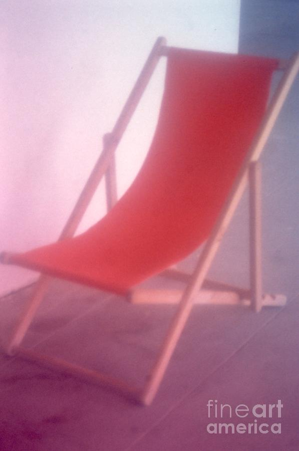 Color Photograph - Deauville Chair by Tamarra Tamarra