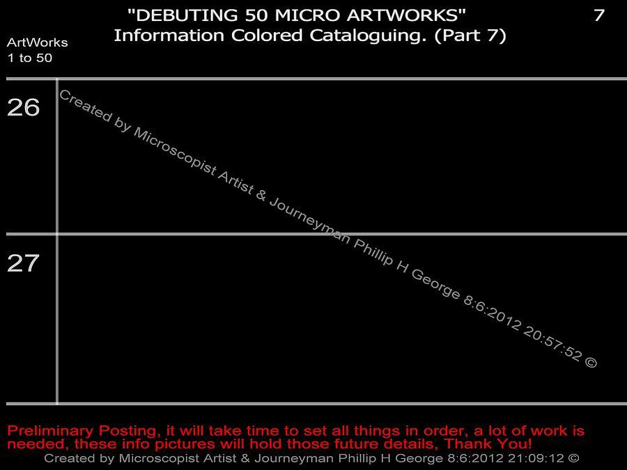 Debuting 50 Micro Artworks Part 7  Digital Art by Phillip H George
