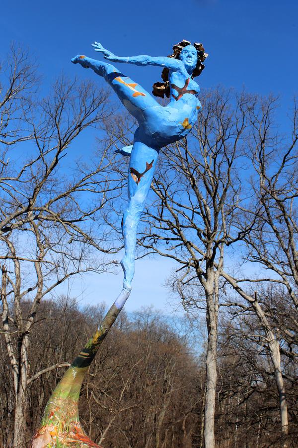 Art Sculpture - Deciduous Photographed Outside by Adam Long
