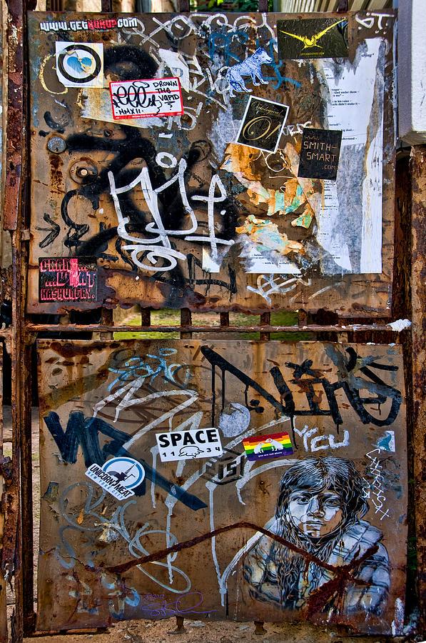 Gate Photograph - Decorated Veteran by S Paul Sahm