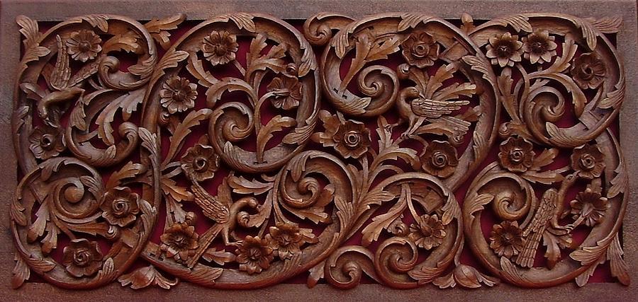 Panel Sculpture - Decorative Panel - Spring by Goran