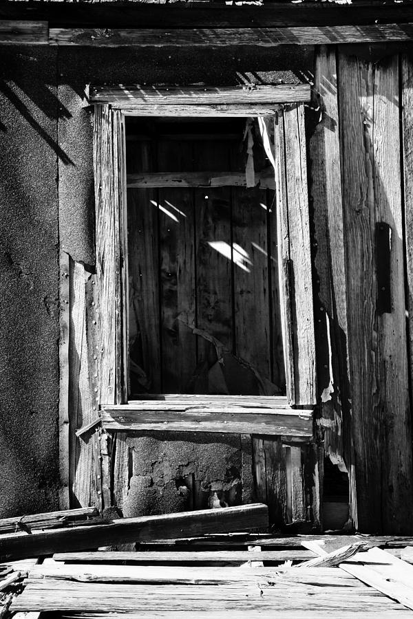 Black White Photograph - Decrepit Bw by Kelley King