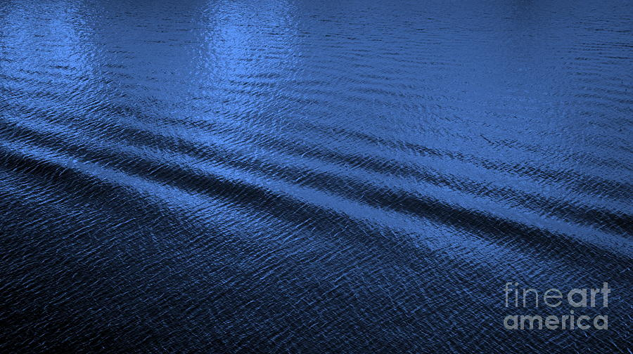 Blue Photograph - Deep Blue Sea by Carol Groenen