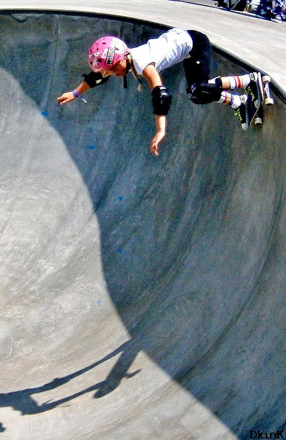 Skateboarding Photograph - Deep End And Bubblegum by Douglas Kriezel
