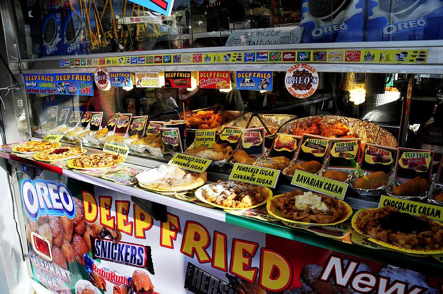 State Fair Photograph - Deep Fried by David Lee Thompson