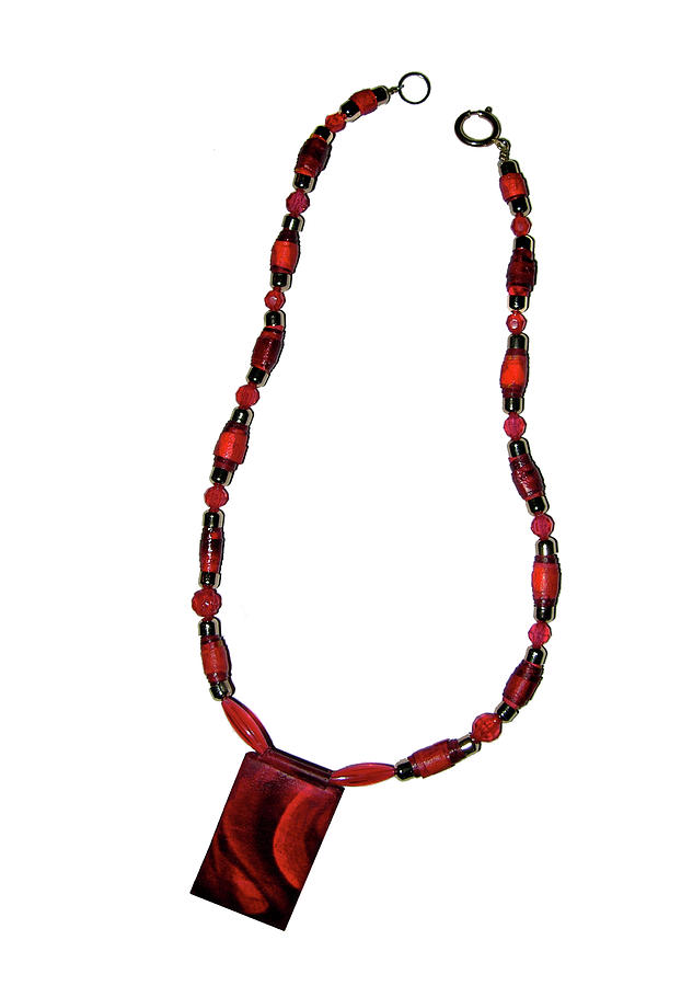 Handmade Jewelry Jewelry - Deep In Red by Adele Greenfield
