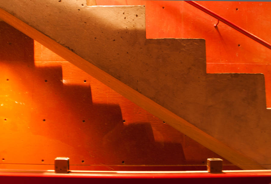 Stairs Photograph - Deep Stairs by Dale Davis