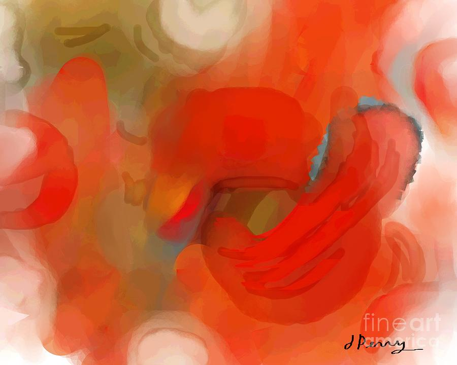 Abstract Art Prints Digital Art - Delayed by D Perry