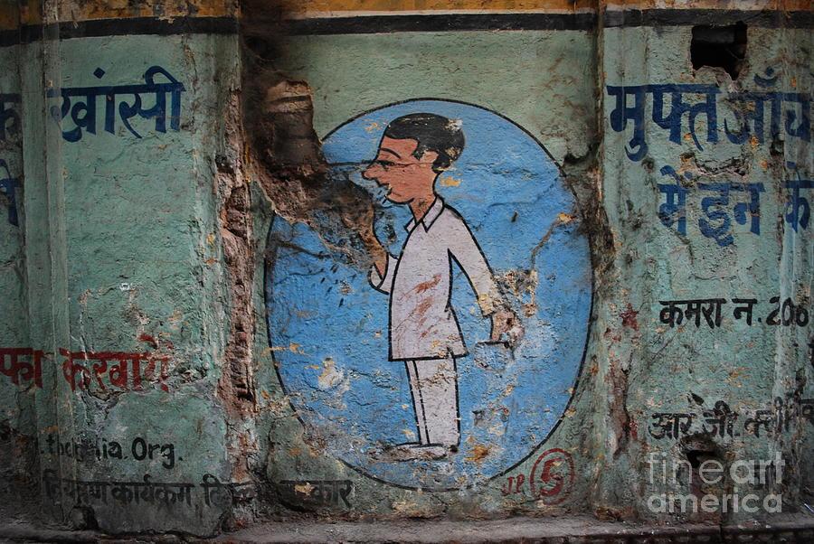Delhi Photograph - Delhi Smoker by Jen Bodendorfer