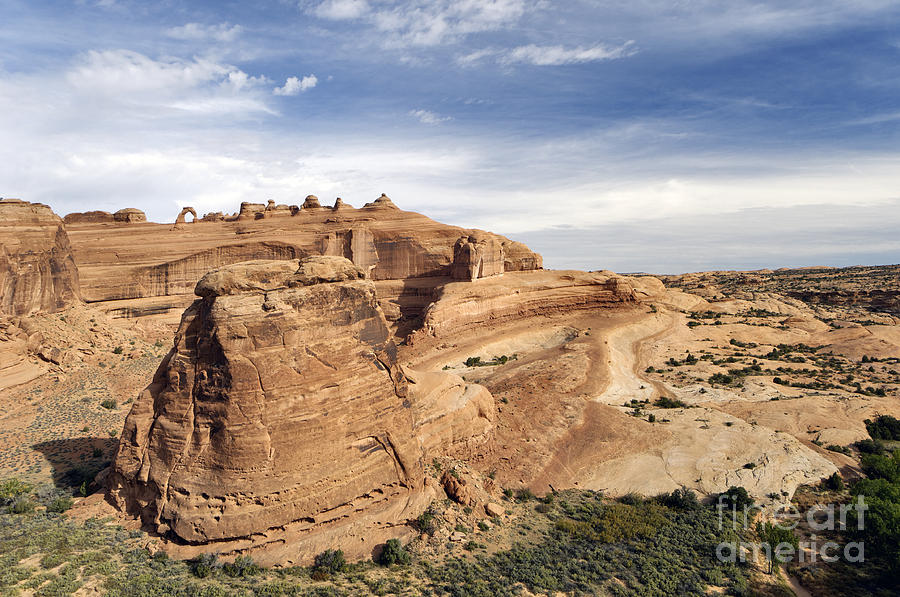 Viewpoint Photograph - Delicate Arch Viewpoint - D004091 by Daniel Dempster