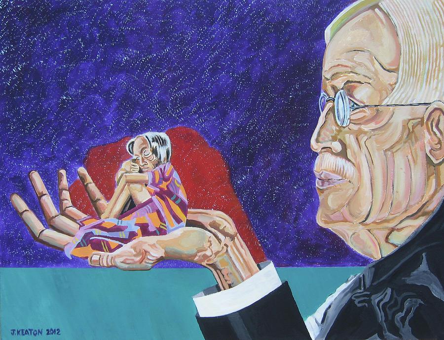 Dementia Painting - Dementia by John Keaton