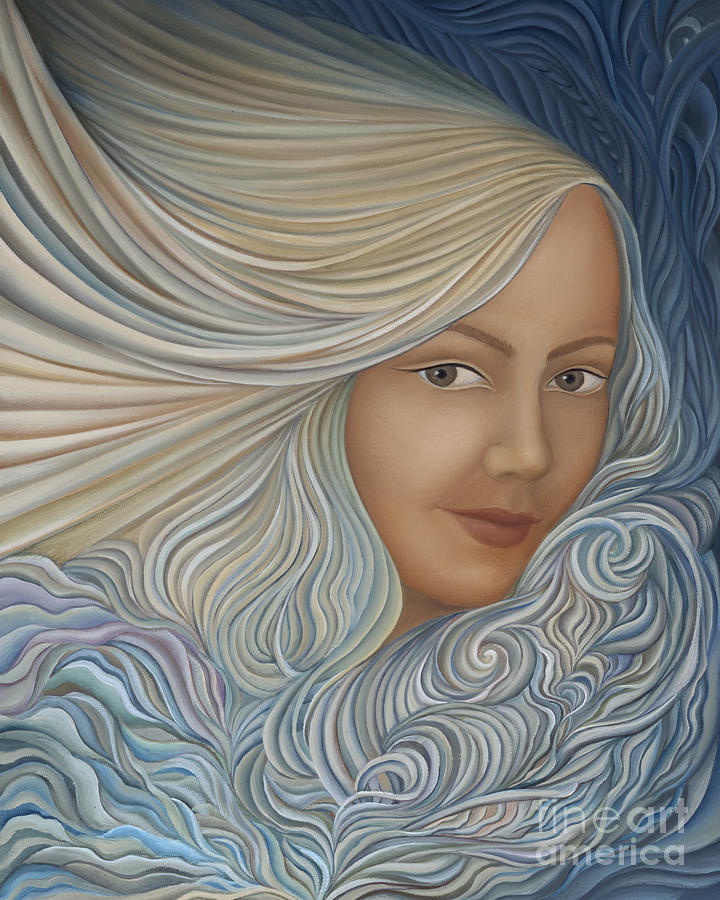 Sensual Painting - Demeter by Joanna Pregon