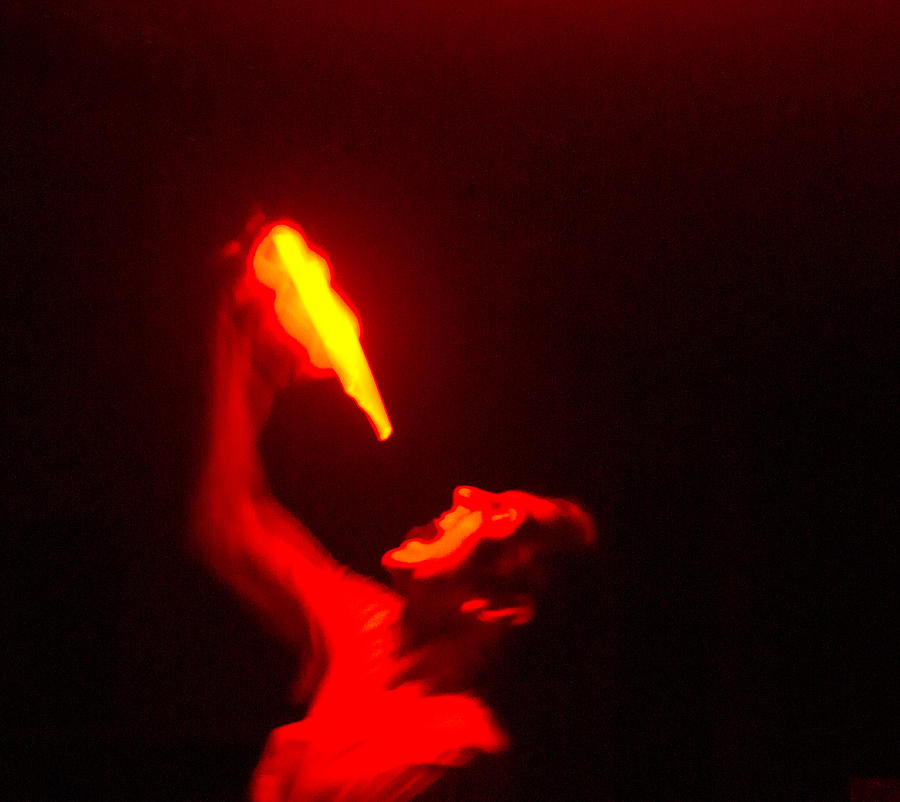 Demon Photograph - Demon Drinking Molten Lead by Douglas Barnett