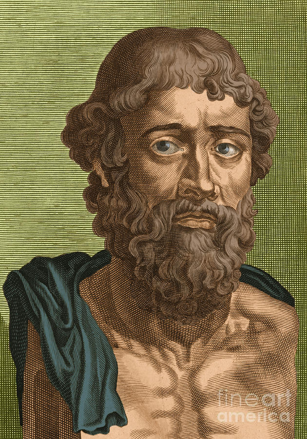 History Photograph - Demosthenes, Ancient Greek Orator by Photo Researchers