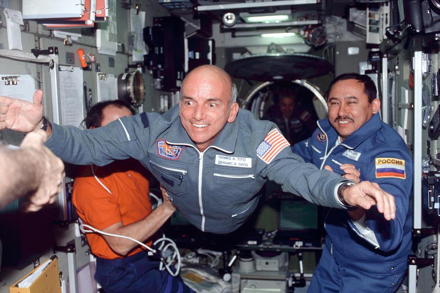 Dennis Tito Photograph - Dennis Tito, First Space Tourist by Nasa