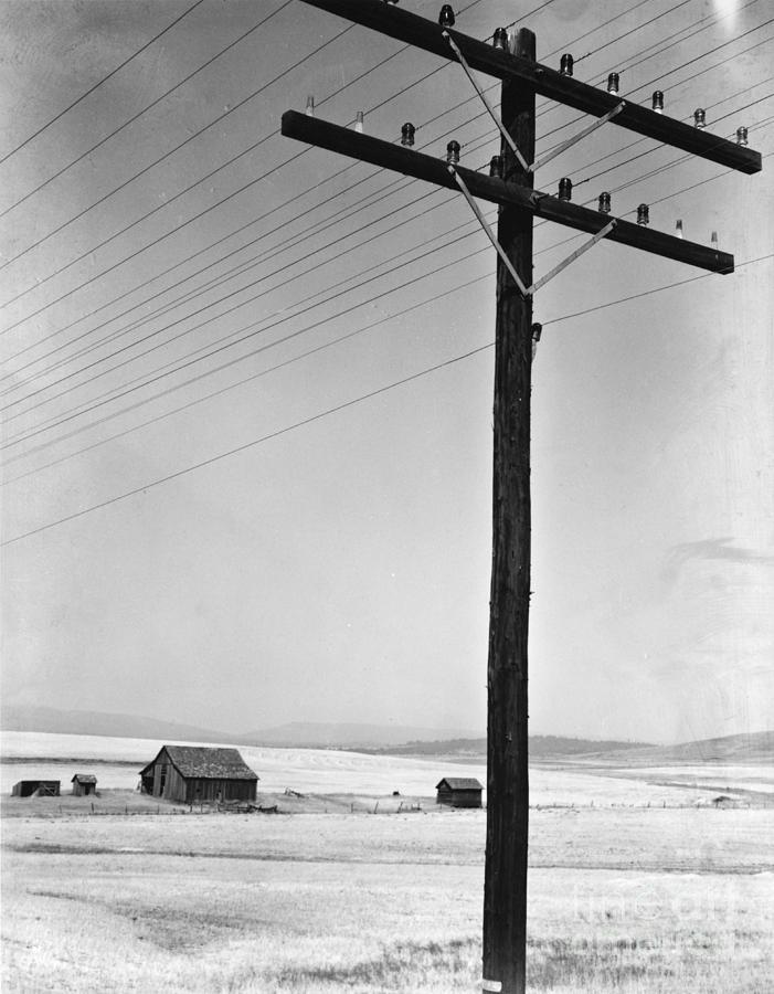 Rural Photograph - Depression Era Rural America by Photo Researchers