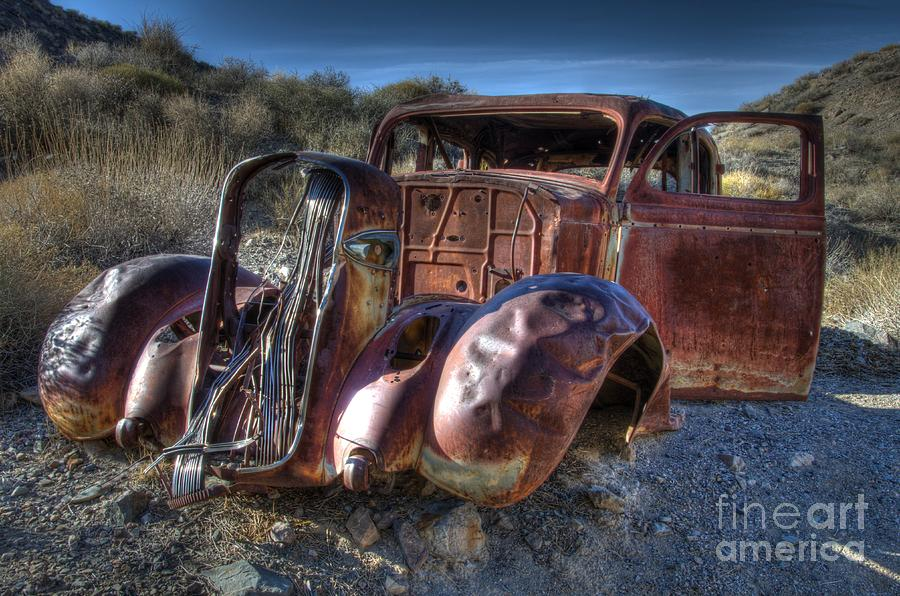 Old Cars Photograph - Desert Beauty by Bob Christopher