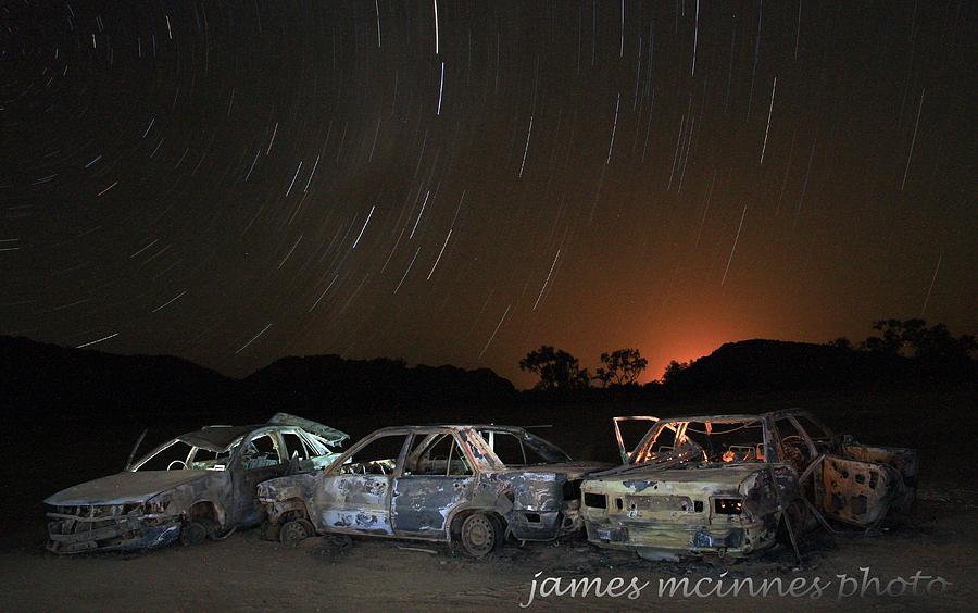 Canopy Of Stars Photograph - Desert Nights by James Mcinnes