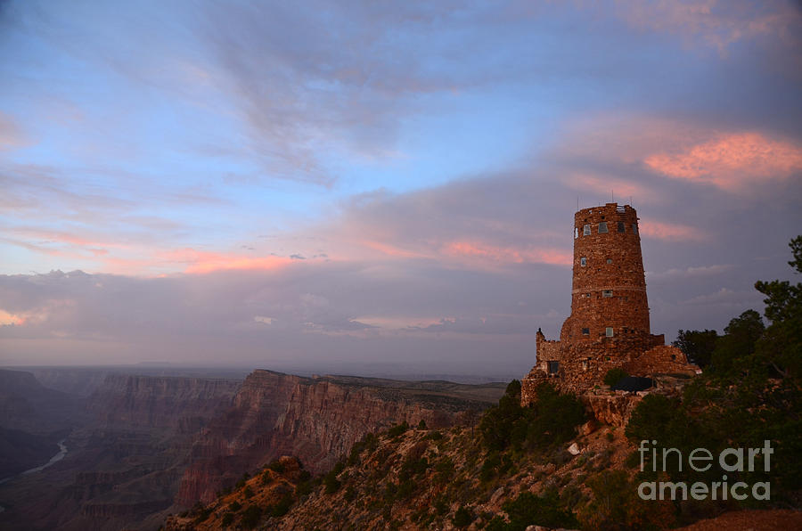Desert View Watchtower Photograph - Desert View Watchtower by Cassie Marie Photography