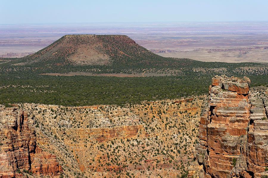 View Photograph - Desert Watch Tower View by Julie Niemela