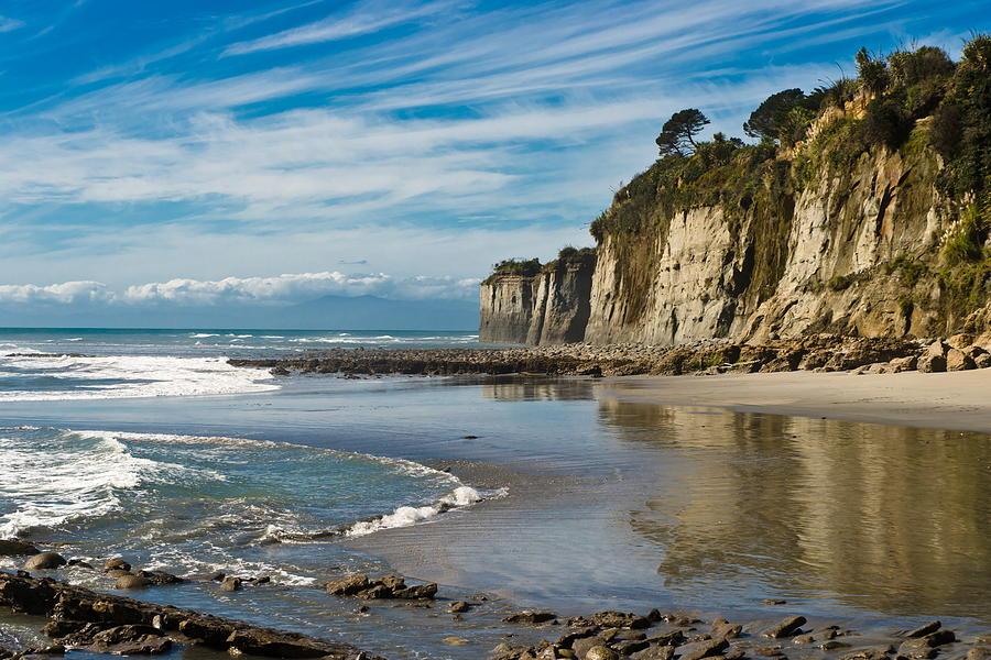 Beach Photograph - Deserted Beach by Graeme Knox