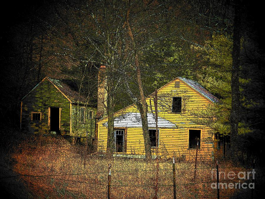 West Virginia Photograph - Deserted Cabins by Joyce Kimble Smith