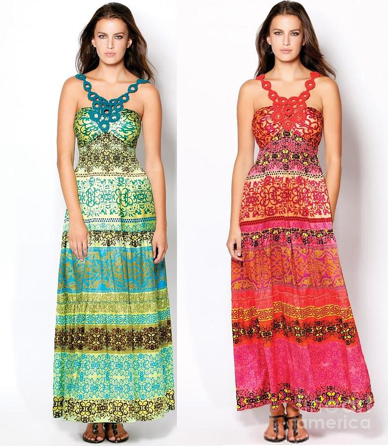 Designer Dresses For Womens Tapestry - Textile by Pradeep Nahata