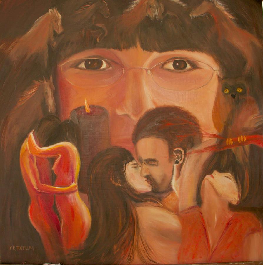 Nude Painting - Desires by Pamela Ramey Tatum