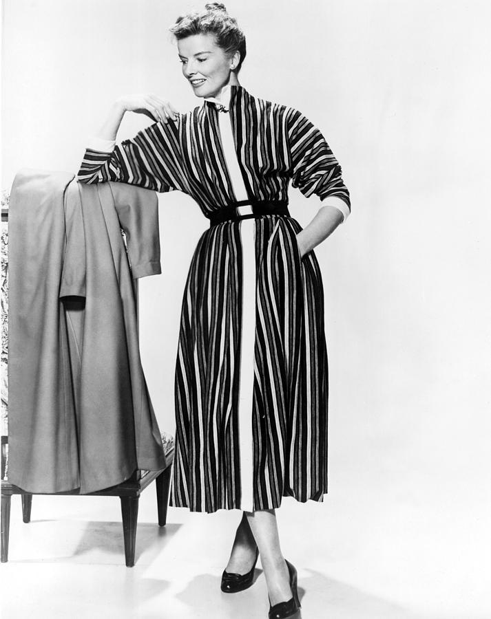 1957 Movies Photograph - Desk Set, Katharine Hepburn, 1957 by Everett