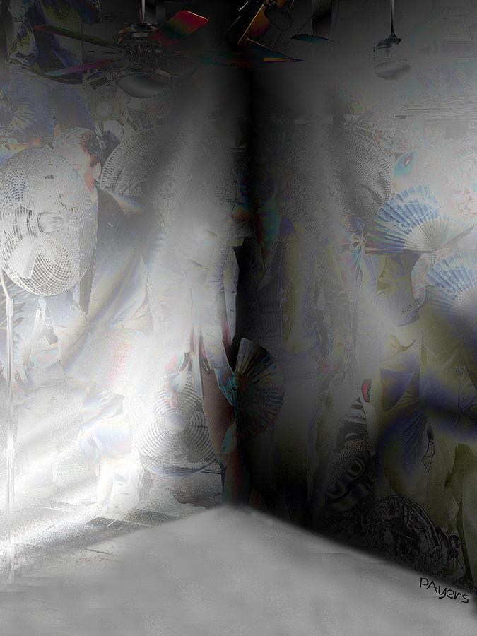 Paula Digital Art - Desolate by Paula Ayers