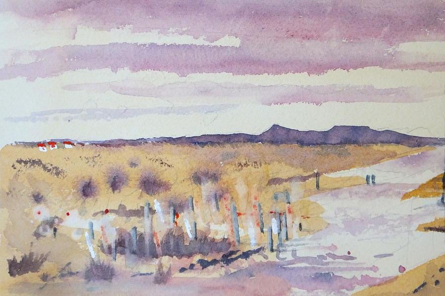 Landscape Painting - Desolation by Harold Kimmel